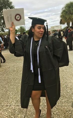 Nicole Curiel Florida Tech Grad